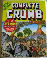 the COMPLETE CRUMB COMICS #17 R 2013 FANTAGRAPHICS 2nd Ptg TPB FREE SHIP