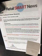 Star Wars Google Cardboard glasses Verizon Exclusive Kylo Ren Free shipping