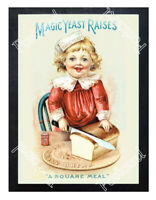 Historic Magic Yeast brand 1889 Advertising Postcard