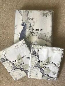 Laura Ashley Belvedere midnight king duvet cover and pillowcases