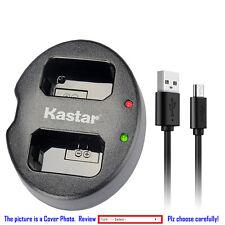 Kastar Battery Dual USB Charger for Sony NP-FW50 BC-VW1 & SLT-A55 NEX-3 NEX-3N