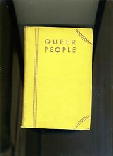 QUEER PEOPLE-GRAHAM-1931-LOST CULT HOLLYWOOD NOVEL. INSCRIBED BY 'BROWNIE'-RARE*