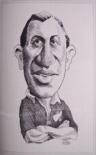 """Jim Parker Nueva Zelanda All Black Caricatura impresión 16x12 """" (41x30cm) Sin Marco"""