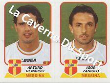 N°534 DI NAPOLI - ZANIOLO # ITALIA FC.MESSINA STICKER PANINI CALCIATORI 2004