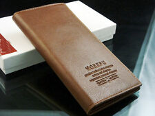 Ladies Tan Real Leather Wallet From Woerfu,New,Factory Sealed