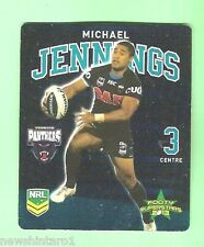 TIP TOP NRL 2013 RUGBY LEAGUE FOOTY SUPERSTARS CARD #19  MICHAEL JENNINGS