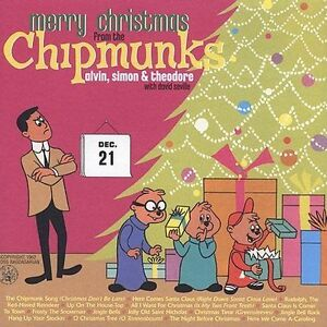 Merry Christmas from the Chipmunks by The Chipmunks (CD, Sep-2003, EMI-Capitol