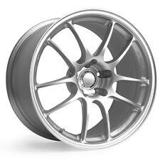 "ENKEI PF01 17x8"" Racing Wheel Wheels 5x100 5x112 5x114.3 Offset 35/45/50 Silver"