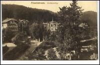 Friedrichroda Thüringen Postkarte 1915 gelaufen Partie in Vorderbüchig