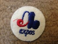 "1970 VINTAGE MONTREAL EXPOS IRON ON PATCH  2"" CIRCLES OLD STORE STOCK"