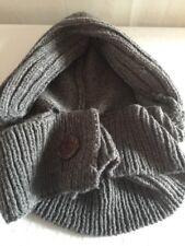Coal Headwear Wool Blend Hat & Scarf in one NWOT Awesome piece. Grey Unisex 1