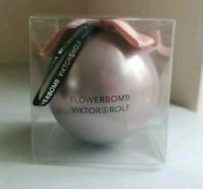 BRAND NEW VIKTOR & ROLF MINIATURE 7ML FLOWERBOMB PERFUME IN VALENTINES BALL