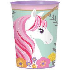 Unicorn Party Supplies Magical Unicorn Favour Plastic Souvenir Drink Cup 470ml