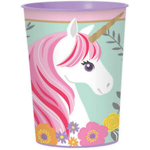 Unicorn Plastic Cup 470ml - Unicorn Party Supplies great Party Favour