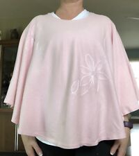 PINK DAISY Nursing Cover Breastfeeding Poncho