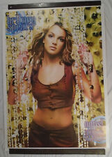 RARE ORIGINAL Britney Spears Huge 2000 Tour Poster Oops I Did It Again VTG HOT