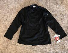 Chef Works Top Jacket Coat Size M  Black