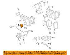 GM OEM Auxiliary A/C AC Heater Unit-Actuator 89018375