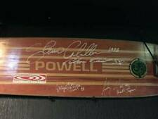Powell Peralta Steve Caballero Skateboard deck with Signed