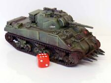 28mm Bolt Action Chain Of Command British Sherman Tank Painted & Weathered R2