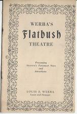1928 A Most Immoral Lady Werba's FLATBUSH Theatre