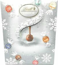 Lindt Lindor Blissful Milk/White / Swiss Chocolate Truffles Advent Calendar 300