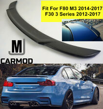 Fit For BMW F80 NEW M3 LARGE HIGH KICK CARBON FIBER REAR TRUNK SPOILER