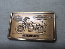 HARLEY DAVIDSON MOTOR CYCLES BRASS BAR 1968 SPRINT SS