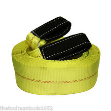 "GRIP Tow Strap 30' x 4"" 20,000lb Capacity Heavy Duty Towing Nylon 30 Feet"
