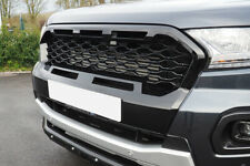 For Ford Ranger Grille Upgrade T8 2019+ Wildtrak Ultimate Stealth Grill GLOSS