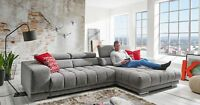 Loungesofa Wohnlandschaft Couch Ecksofa Eckcouch Plansofa SATELLITE II MEGAPOL