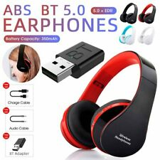 New listing Wireless Headsets Bluetooth 5.0 Headphones + Transmitter for Tv Computer Phone
