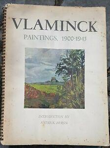 Rare Vlaminck: paintings book 1900 -1945 Drummond Ltd,Les Editions Patrick Heron