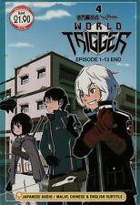 World Trigger 4 DVD Complete 1-13 - US Seller Ship Fast