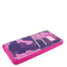 Gemusterte Handy-Schalen aus Kunstleder für Samsung