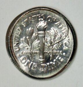 Mint Error – 1995-P Roosevelt Dime 10c – Large Broad Struck