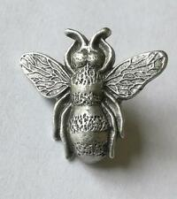 Bee Pewter Brooch / pin badge Made In UK. New. Hive, swarm, honey, buzzing