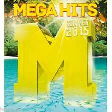 MEGAHITS SOMMER 2015 - DOUBLE CD 2015 * NEW *
