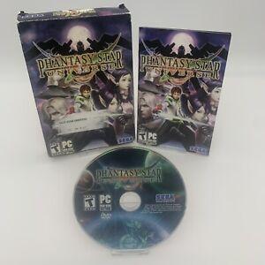 Phantasy Star Universe (2006) PC DVD-ROM, RPG, Complete W/ Manual CIB *VGC*