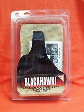 BLACKHAWK Leather Holster 3 Slot Pancake Glock 26/27/33 #420005BK-L