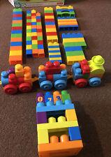 Mega Bloks Train And Blocks Bundle