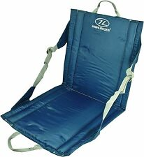 OUTDOOR WATERPROOF SEAT back support comfy camping fishing picnic beach chair