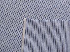 Vintage Cotton Fabric Narrow stripe Shirting 5 3/4yds
