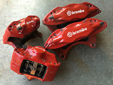 2008 MITSUBISHI LANCER EVOLUTION X MR GSR BREMBO BRAKE CALIPERS CT9A EVO9 SET
