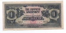 Old Japanese One Dollar Currency Note