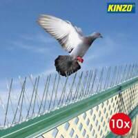 Dissuasori Per Piccioni Volatili Uccelli 10pz Metallo 165cm Deterrente Kinzo