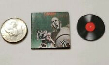 "Dollhouse Miniature Record Album 1"" 1/12 scale Barbie Queen Mercury News World"