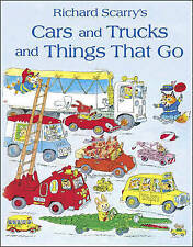 Cars and Trucks and Things that Go by Richard Scarry | Paperback Book | 97800073