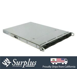 1U Server 4 Bay LFF X10DRH-CLN4 Xeon E5-2620 V3 12 Core 64GB HBA 12Gb/s SAS3