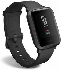 New Original Amazfit Bip Smartwatch - Onyx Black with Black Silicone Band -!